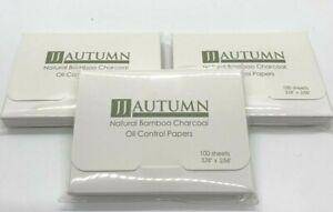 JJ Autumn Oil Absorbing Sheets - Blotting Paper - Oil blotting tissues (300 pcs)
