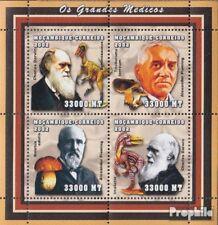 Mosambik 2544-2547 Velletje postfris MNH 2002 Persoonlijkheden