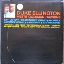 DUKE ELLINGTON (LP 33 Tours)  MEETS COLEMAN HAWKINS
