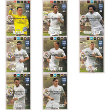 Fußball Panini Real Madrid-Trading Cards Erscheinungsjahr 2016