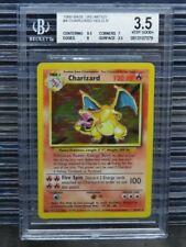 1999 Pokemon Charizard Base Set Unlimited Holo Rare #4 BGS 3.5 VG+ (79) C431