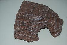 VIVARIUM Large Reptile coin PLATE-FORME de l'exposition au soleil marron 27 x