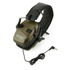 More details for hunting sport electronic shooting earmuff sound amplification headset foldable*