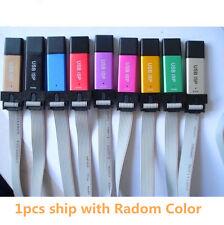 USBISP USBASP Programmer  Aluminum for 51 ATMEL AVR WIN7 64 (Random color)
