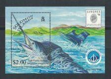 1998 Solomon Islands Stamps Fish SG MS922 MUH