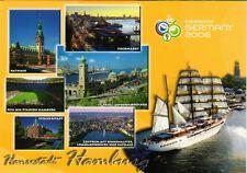 HQ - XXL  Postcard  neu, ungelaufen  -  Hamburg  -  Fußball WM 2006  -  HSV  -