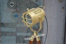 HOLLYWOOD SPOT LIGHT TRIPOD STAND FLOOR LAMP NEW YEAR DECOR NAUTICAL LIGHT