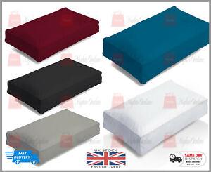 NEW Luxury Hotel Quality Poly Cotton Box Pillow Case Plain & Fine Pillow Cases