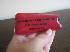 Squirrel Hill Food Farm, Inc advertising rain bonnet. Pittsburgh, PA