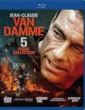 JEAN-CLAUDE VAN DAMME 5 Movie Collection Blu-Ray BRAND NEW Free Shipping