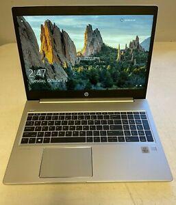 """HP ProBook 450 G7 - 15.6"""" (128GB SSD, i5-10210U @ 1.60GHz, 12GB RAM) Win 10 Pro"""