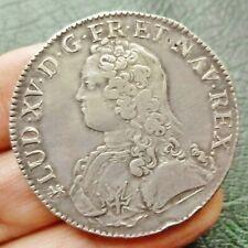 Louis XV  - Ecu aux branches d'olivier - 1727 T  Nantes