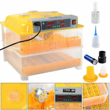 Digital Egg Incubator Hatcher Temperature Control Automatic Turning Chicken 96