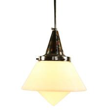 Art Deco Stab Pendel Leuchte Bauhaus Ära alte Hänge Lampe 20er 30er Dr. Twerdy