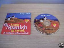 LEARN SPANISH IN A WEEK DISC 1 One Linguaphone No Reading No Effort (DAILY MAIL)
