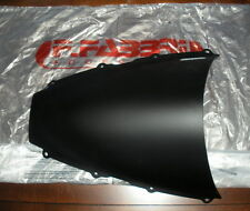Fabbri Double Bubble Racing Screen for Triumph Daytona 675 06-08, Matte Black