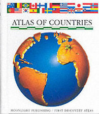 Atlas of Countries by Moonlight Publishing Ltd (Hardback, 1996)