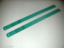 "2 NOS Eclipse UK HSS Steel 6TPI  20"" x 1-1/2"" x .075"" POWER HACKSAW BLADE AE375A"