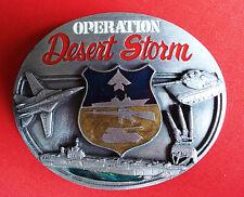 VTG 1991 Siskiyou Operation Desert Storm Belt Buckle
