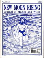 New Moon Rising Journal Of Magick And Wicca Vol 6 No 4 1994 Tarot Crop Circles