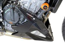KTM 125 DUKE 17-20 Black-Silver Mesh Belly Pan - Powerbronze
