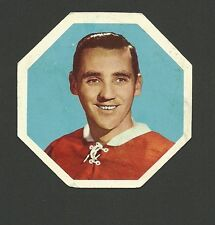 Jacques Plante Montreal Canadiens 1961-62 York Peanut Butter Hockey Card #23