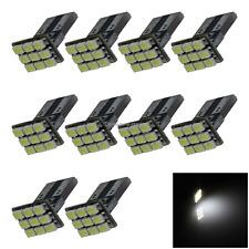 10x White RV T10 W5W Reverse Light Backup Bulb PCB 9 1206 SMD LED A040