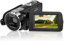 Camking HDV-312 Video Cámara Videocámara, 24MP HD Cámara De Vídeo Digital 1080P