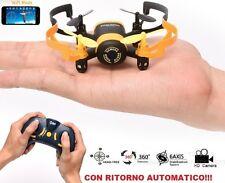 Drone quadricottero con ritorno automatico e videocamera.Mini ufo WiFi iPhone