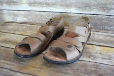 Finn Comfort Gomera Soft Sandals Womens Size EUR 42 / US 11-11.5 Taupe