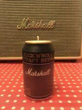 Marshall amp, beer can candle, marshall