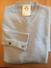 Brooks Brothers Black Fleece 100% Cashmere Sweater Mens BB1 S Scotland