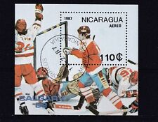 Nicaragua 1987 - Sport  (Hockey)