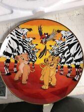 "Disney THE LION KING ""I'm Gonna be King"" Collectible Plate NIP Bradford Exchange"