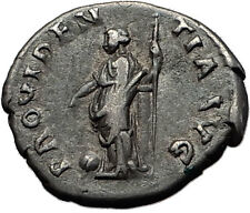 Hadrian  133AD Rare Silver Ancient Roman Coin Providentia Forethought  i58513