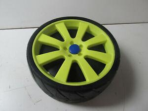 Ketler Car Racer Non-Drive Left Side Front or Rear Wheel Yellow Blue