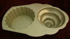 Nordic Ware U.s.a. Cup Cake Mold/Pastel Hornear Bandeja 10 Tazas 2.4L