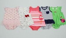 Girl 12 Months Carter's Cotton One Piece Dress Outfit Rompers Summer Lot!