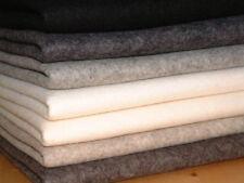 1 - 2 Metres 100% Wool Craft Fabrics Crafts
