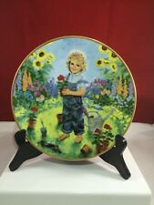 A Time To Plant by John McClellend Collector plate