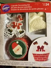Santa 24 Cupcake Decorating Kit from Wilton - NEW  free shipping