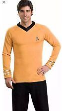 Original Star Trek Gold Captain Kirk Adult Costume XL 44-46