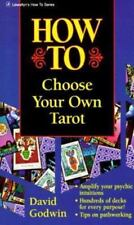 Llewellyn How to Choose Your Own Tarot by David Godwin 1995, Paperback