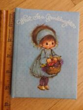 What Is a Granddaughter - Hallmark Vintage Keepsake Treasures Book 5.5 x 4