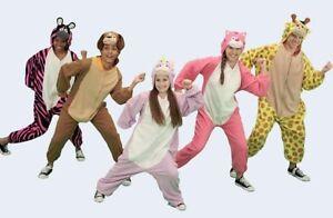 Kids Animal Costume All In One Jumpsuit Pj's Girls Boys J Animals New