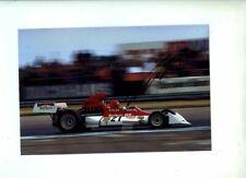 Niki Lauda BRM P160E British Grand Prix 1973 Signed Photograph