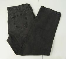 Old Navy Mens Jeans Size 38 x 32 Straight Leg Dark Black Denim Classic 5 Pocket