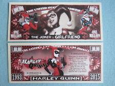 HARLEY QUINN: Batman Super Villain Loves Joker ~ $1,000,000 One Million Dollars