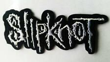 SLIPKNOT IRON ON SEW ON EMBROIDERED PATCH 11cm x 4cm MUSIC ROCK METAL BAND