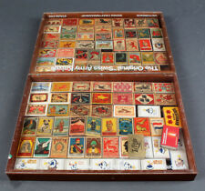 LOT COLLECTION OF 86 MADE IN SWEDEN MATCHBOX LABEL SAFETY MATCH WITH BOX